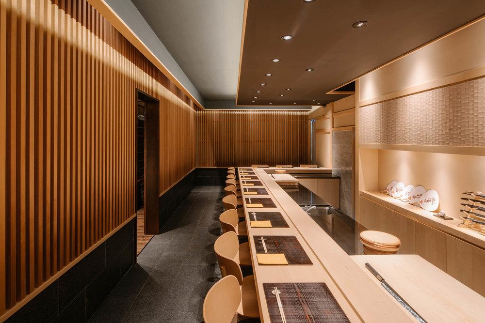 Client  Monocle Singapore Travel Guide  Project  Hashida Sushi, Mandarin Gallery  Location  Singapore  Year  2016
