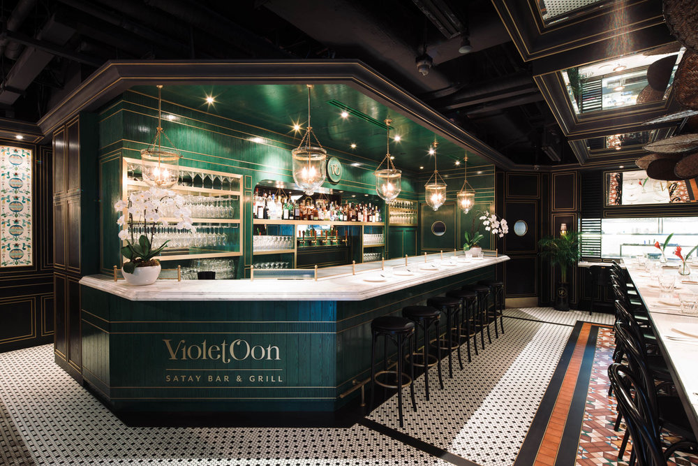 Client  LAANK  Project  Violet Oon Satay Bar & Grill  Location  Singapore  Year  2017