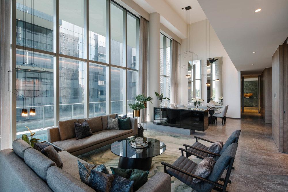 Client  Formwerkz  Project  Leedon Residences  Location  Singapore  Year  2017