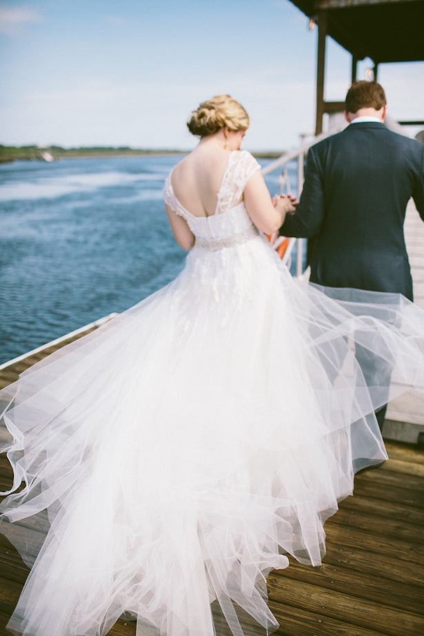 Carol Hannah - Real Weddings- Inspiration- Custom Gown