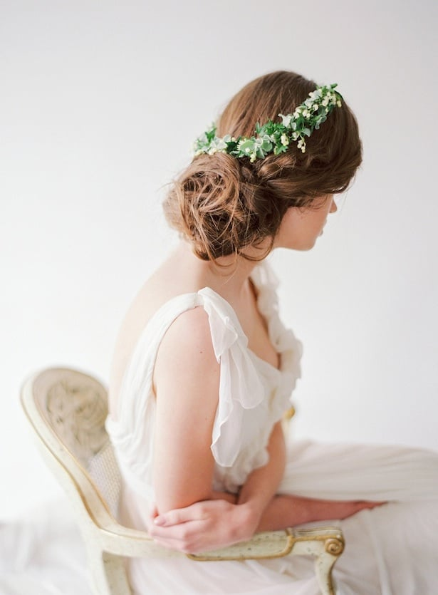 Carol Hannah Wedding Gown - Wedding Hair inspiration shoot with Corbin Gurkin2