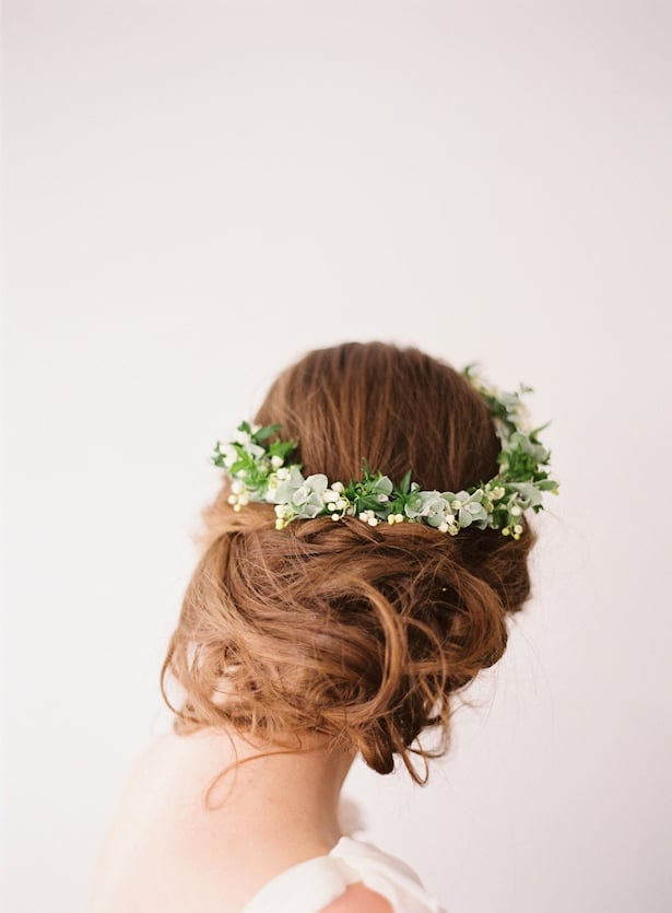Carol Hannah Wedding Gown - Wedding Hair inspiration shoot with Corbin Gurkin3