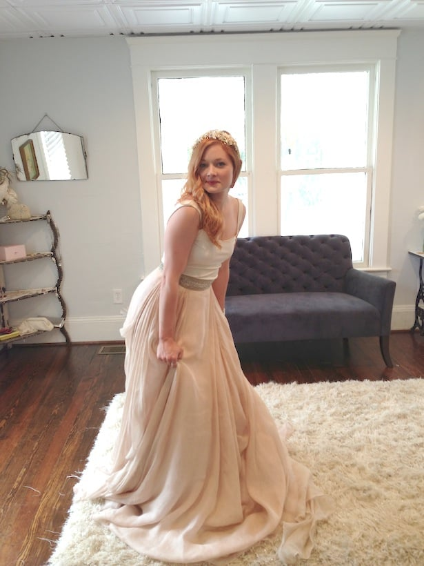 Introducing the sentimentalist in atlanta ga carol hannah for Wedding dress in atlanta