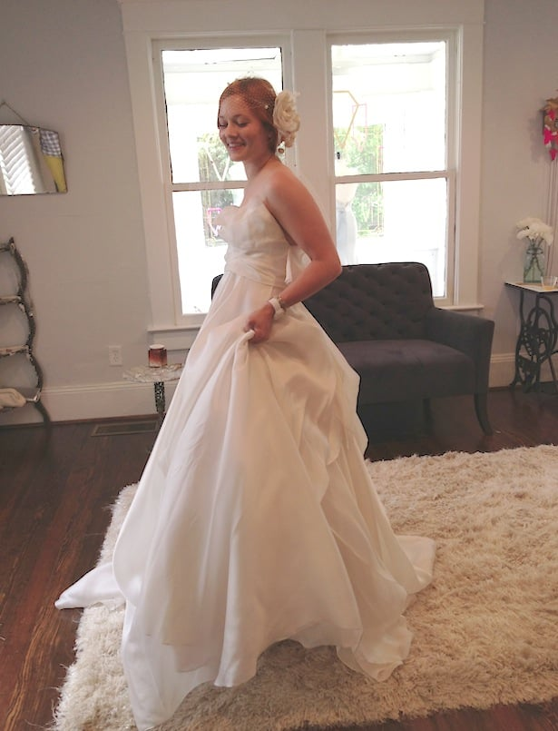 Mulberry wedding gown- Atlanta bridal shop The Sentimentalist