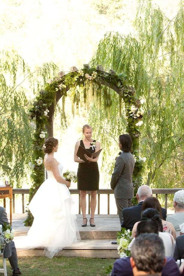 Birch Gown, Outdoor Wedding--Carol Hannah