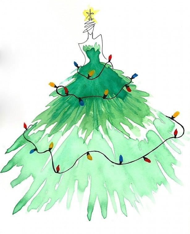 christmas card doodle 2013 edited