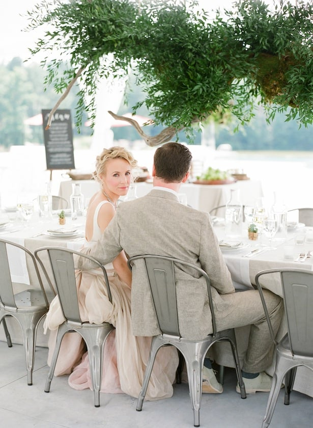 Kensington gown real wedding inspiration with Buffy Dekmar Photography
