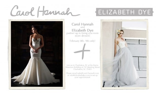Carol Hannah and Elizabeth Dye Pop-Up shop in Charleston, SC