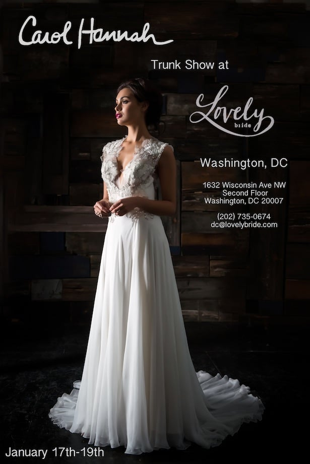 Lovely Trunk show dc January 2014 promo