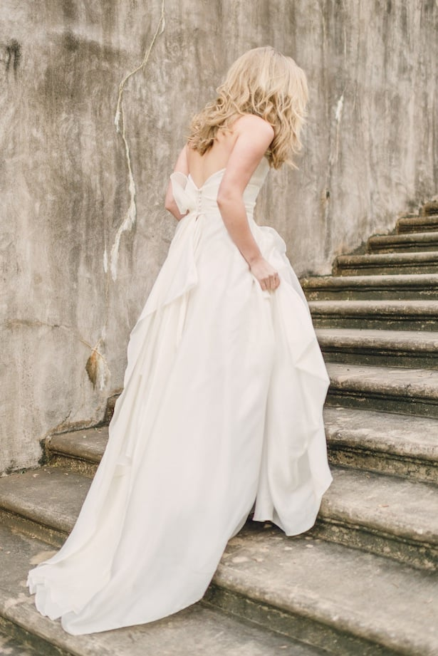 Carol Hannah Mulberry gown - Rustic White Photography - Real Wedding Inspiration
