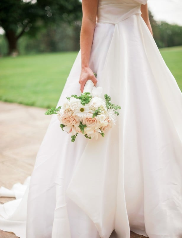 Carol Hannah Mulberry gown in Smitten real weddings