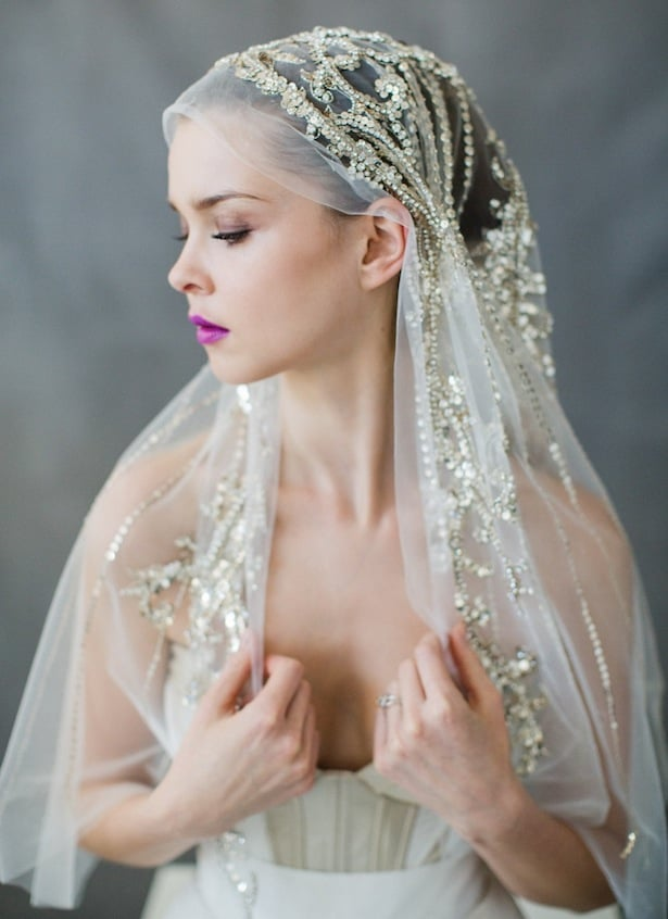 Bridal accessories that shine - Carol Hannah
