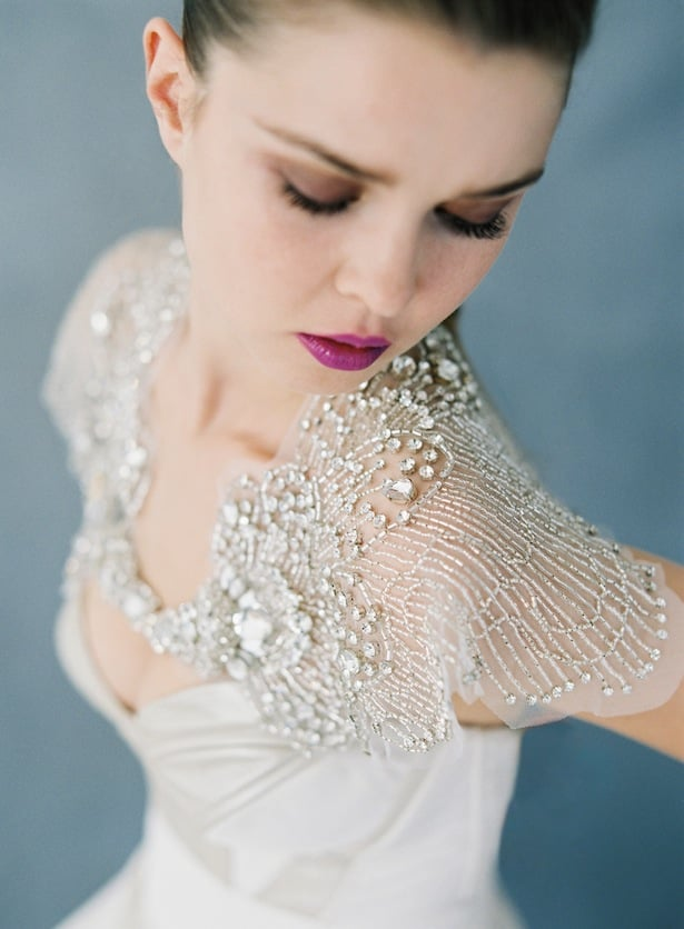 Phoenix capelet - Bridal accessories that shine - Carol Hannah