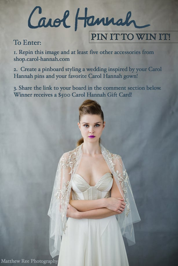 Carol Hannah Pinterest Contest!