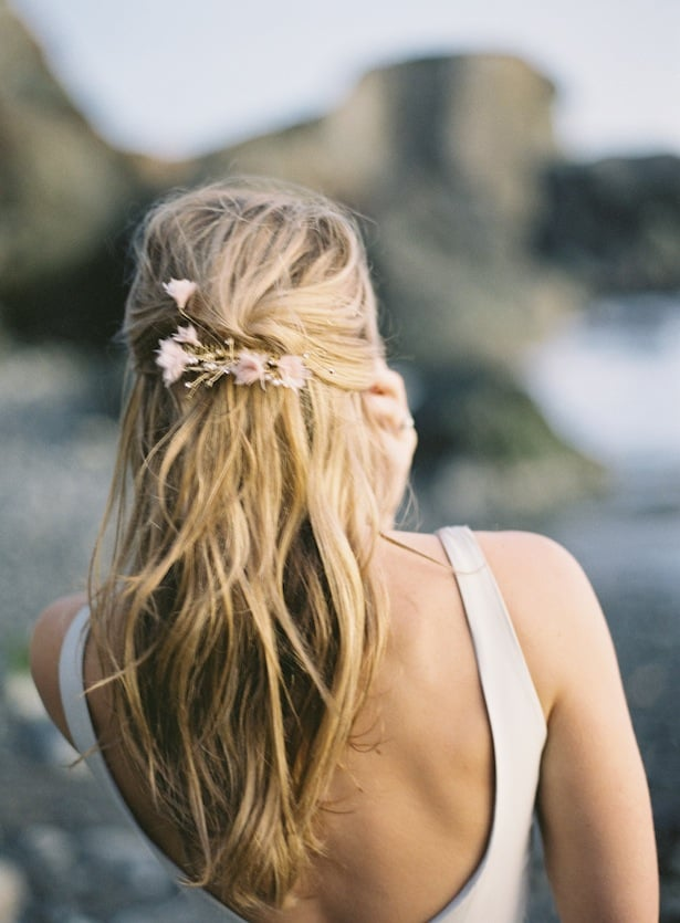 Half back wedding hair inspiration