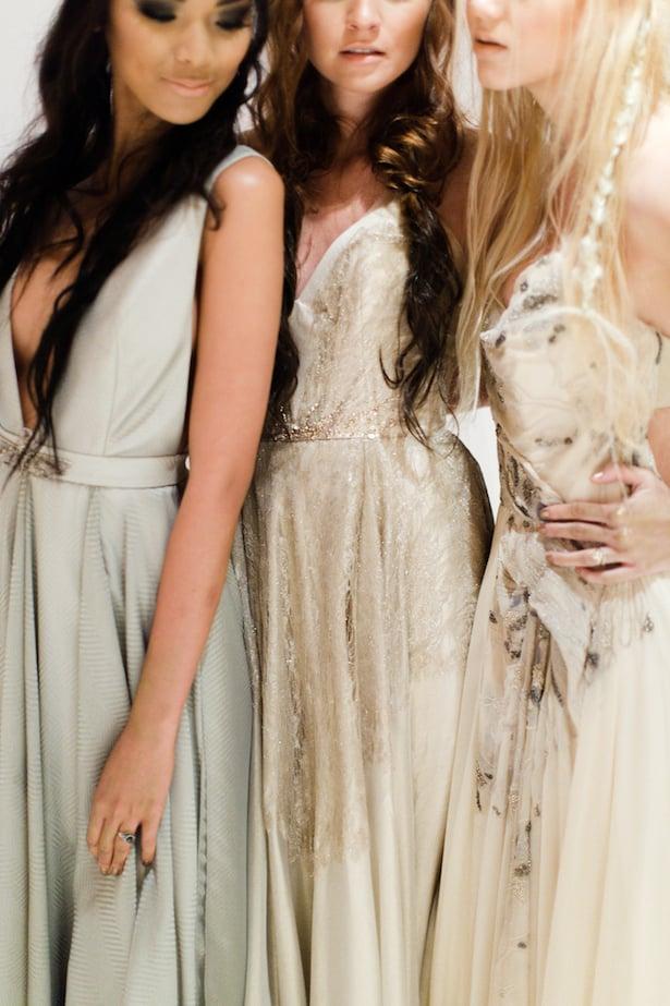 Behind the scenes Carol Hannah 2015 runway show - Azurite, Pyrite, Gypsum