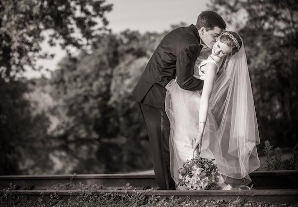 Carol Hannah Real Wedding: Downton