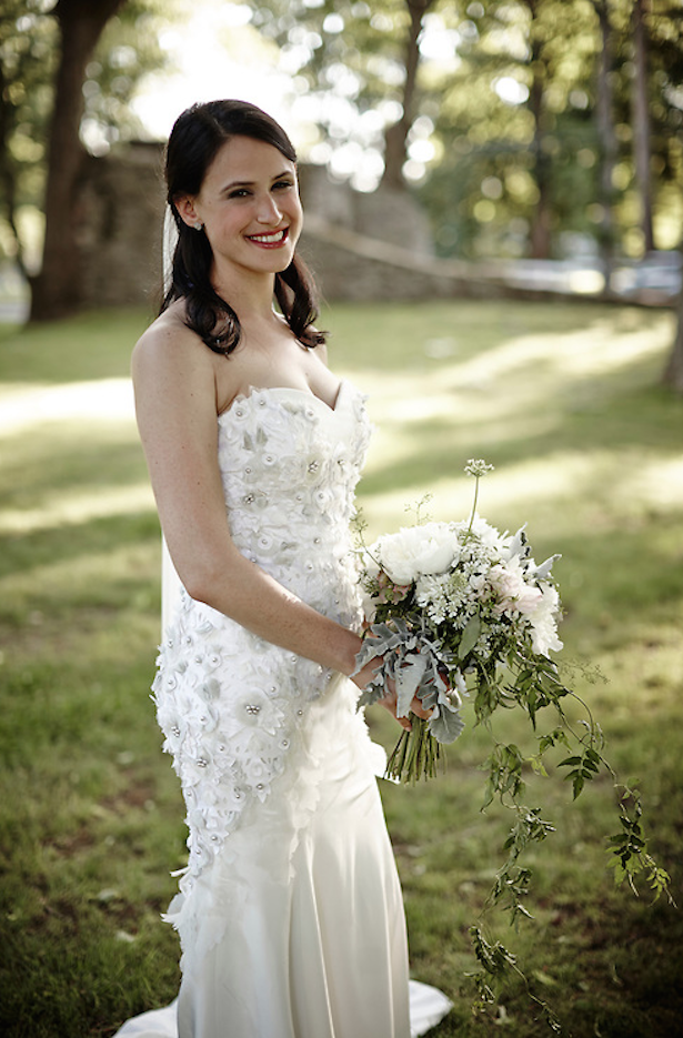 Carol Hannah Real Weddings: Versailles Trumpet Gown
