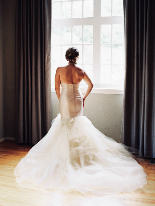 Carol Hannah Real Wedding: Fortuna Gown