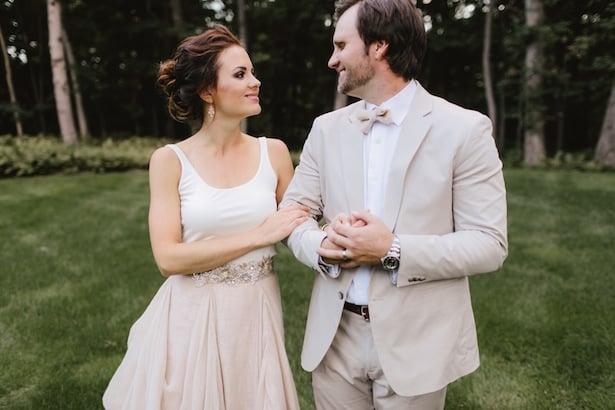 Carol Hannah Kensington gown Real Wedding