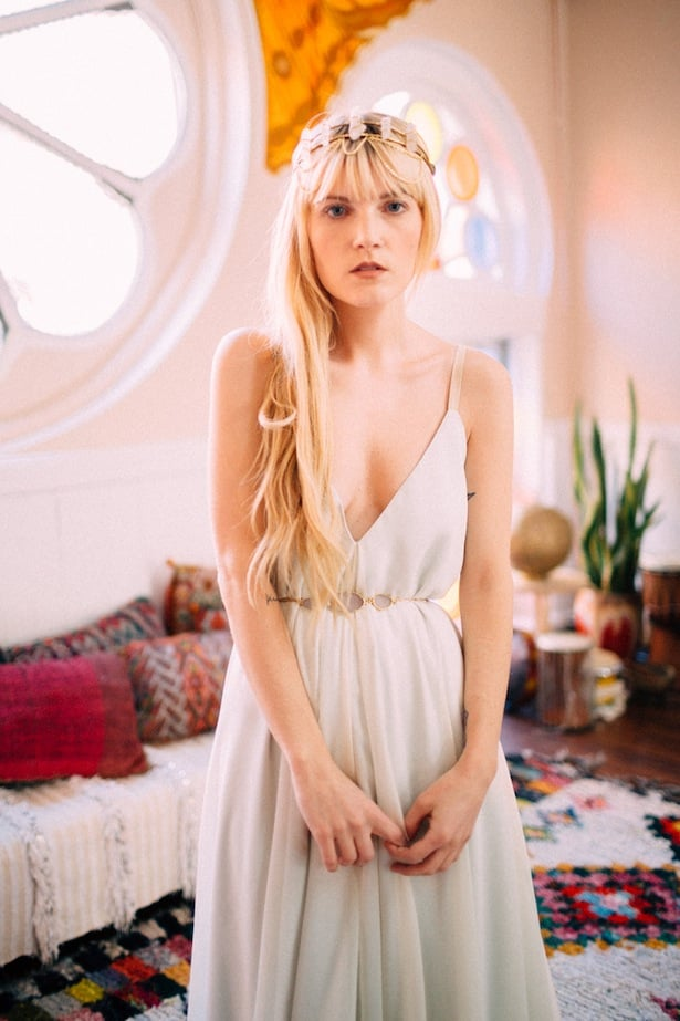 Bohemian Bridal Inspiration - The Melideos and Carol Hannah