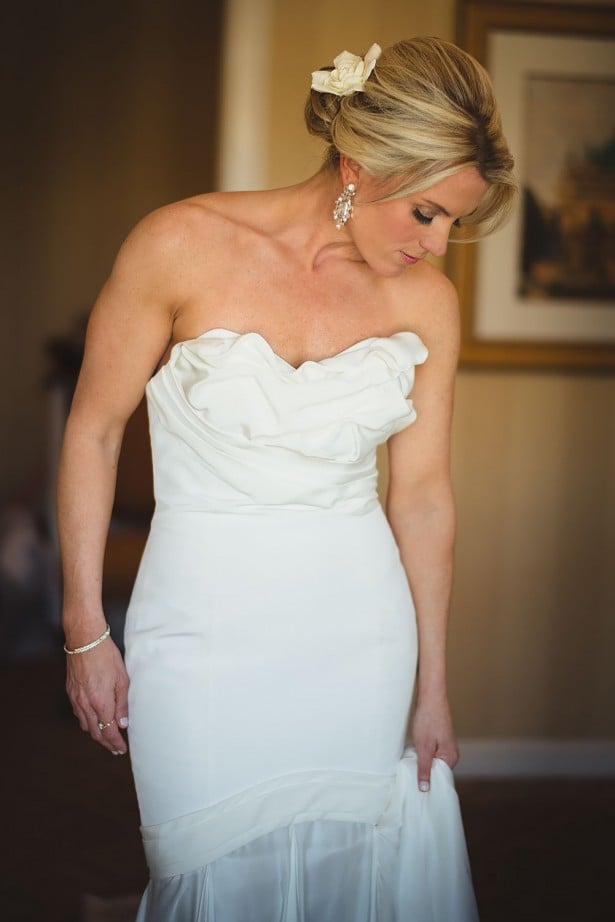 Carol Hannah Real Wedding - Belmont gown