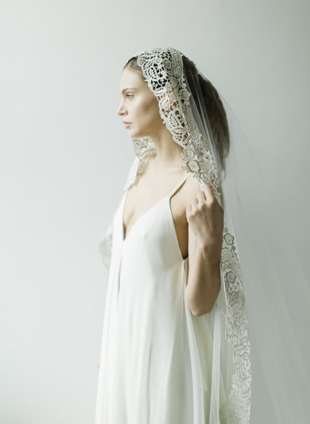 Carol Hannah 2015 veils and accessories shot by Matthew Ree