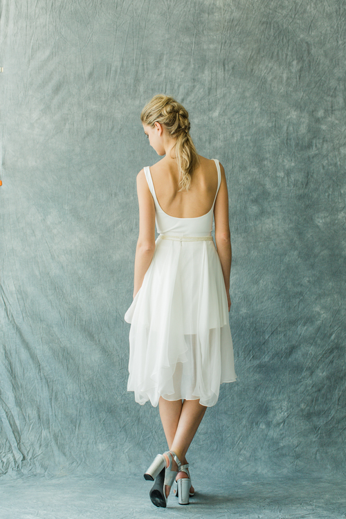 Carol Hannah Kensington Tank+Stratoshpere Shorty Skirt Back by Matthew Ree.jpg