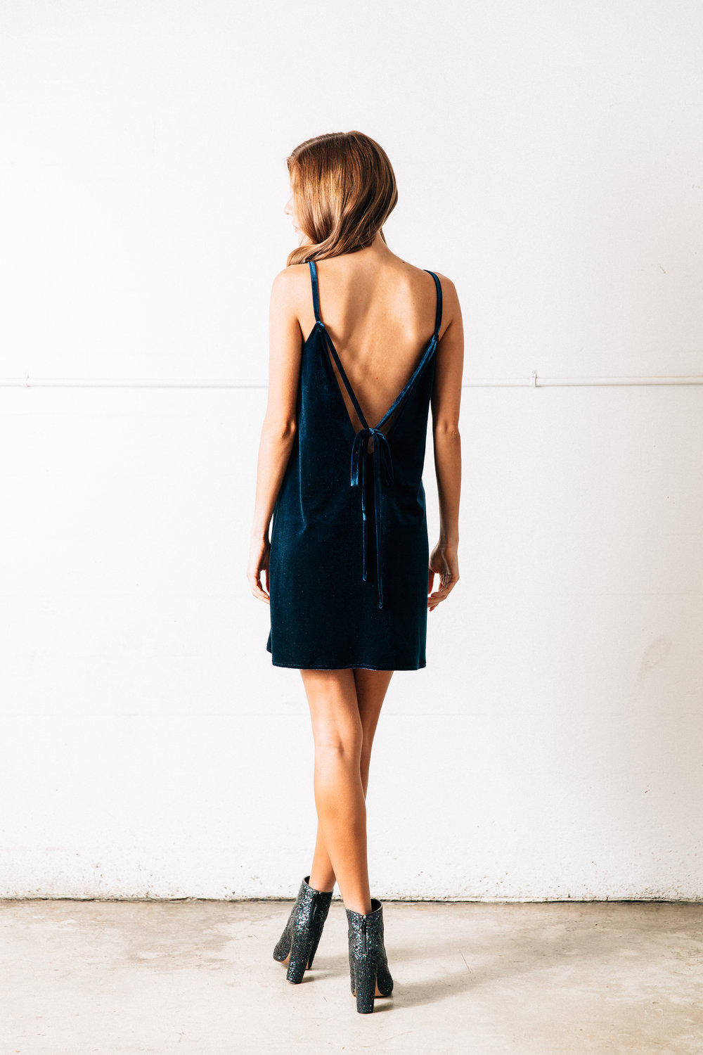 Velvet Underground Dress // Navy