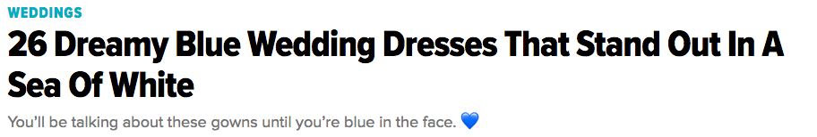 Blue wedding gowns in the huffington post.png