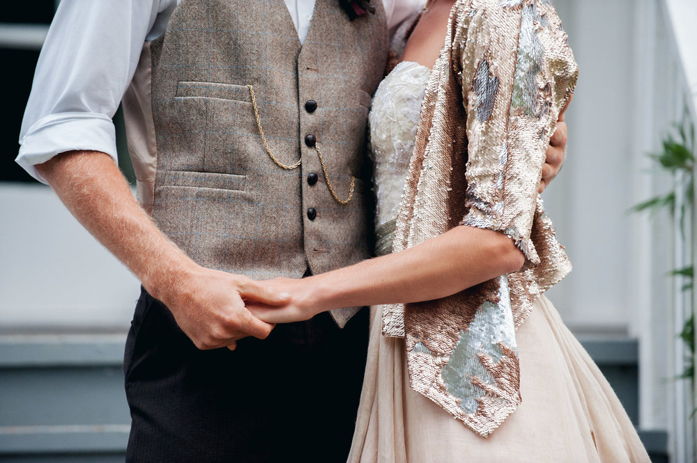 Carol Hannah Bridal Tritea, Kensington, Sequin Smoking Jacket Silver Linings Veil1885.jpg