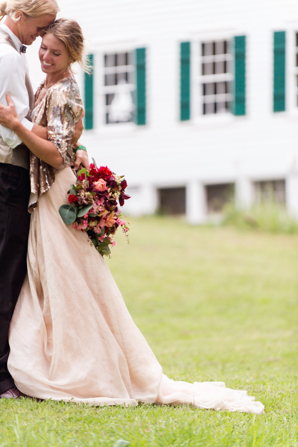 Carol Hannah Bridal Tritea, Kensington, Sequin Smoking Jacket Silver Linings Veil1013.jpg