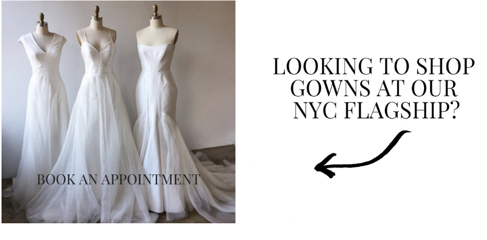 NYC bridal shop