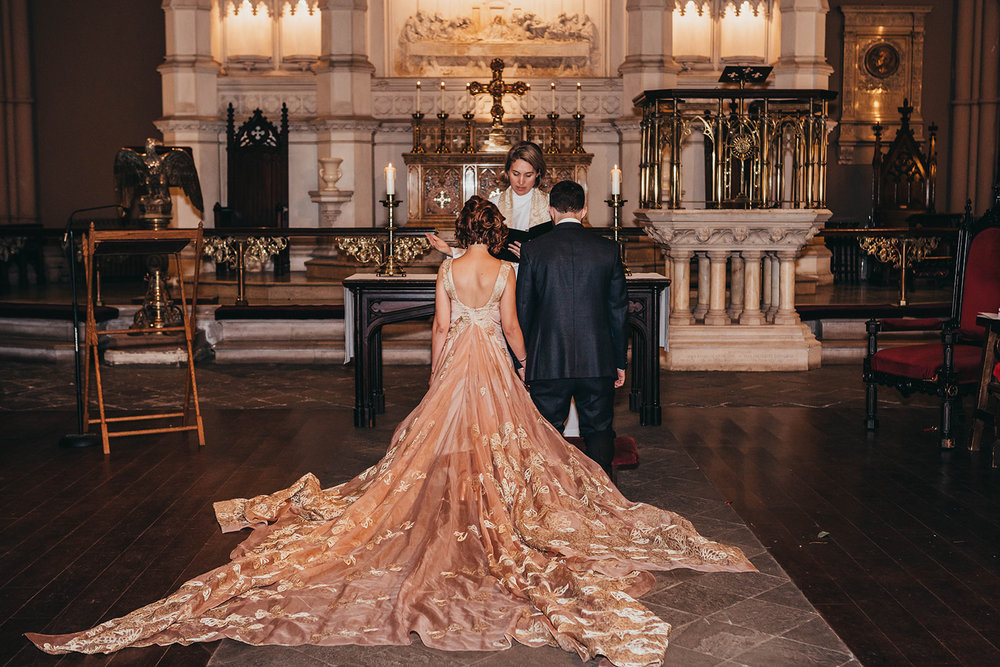 Blush, rose, gold wedding gown with butterflies, victorian bridal trend, nyc wedding gown designer-609.jpg