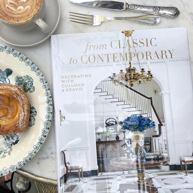 Congratulations to my former colleagues @cullmankravis for the launch of 'From Classic to Contemporary'...I devoured the beautiful pictures and always thoughtful text all morning. (Had to substitute a Magnolia cupcake with a danish.. not the same) Brava! 👏⭐️✨