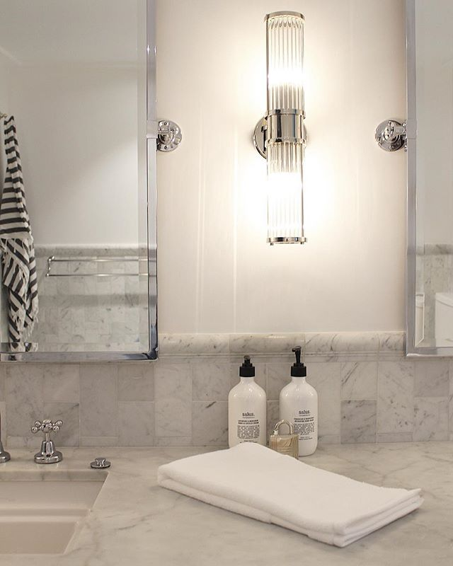 Master Bathroom Details at our Lizzy Bay Project. Architecture by @alexander_andco #melissakochinteriors
