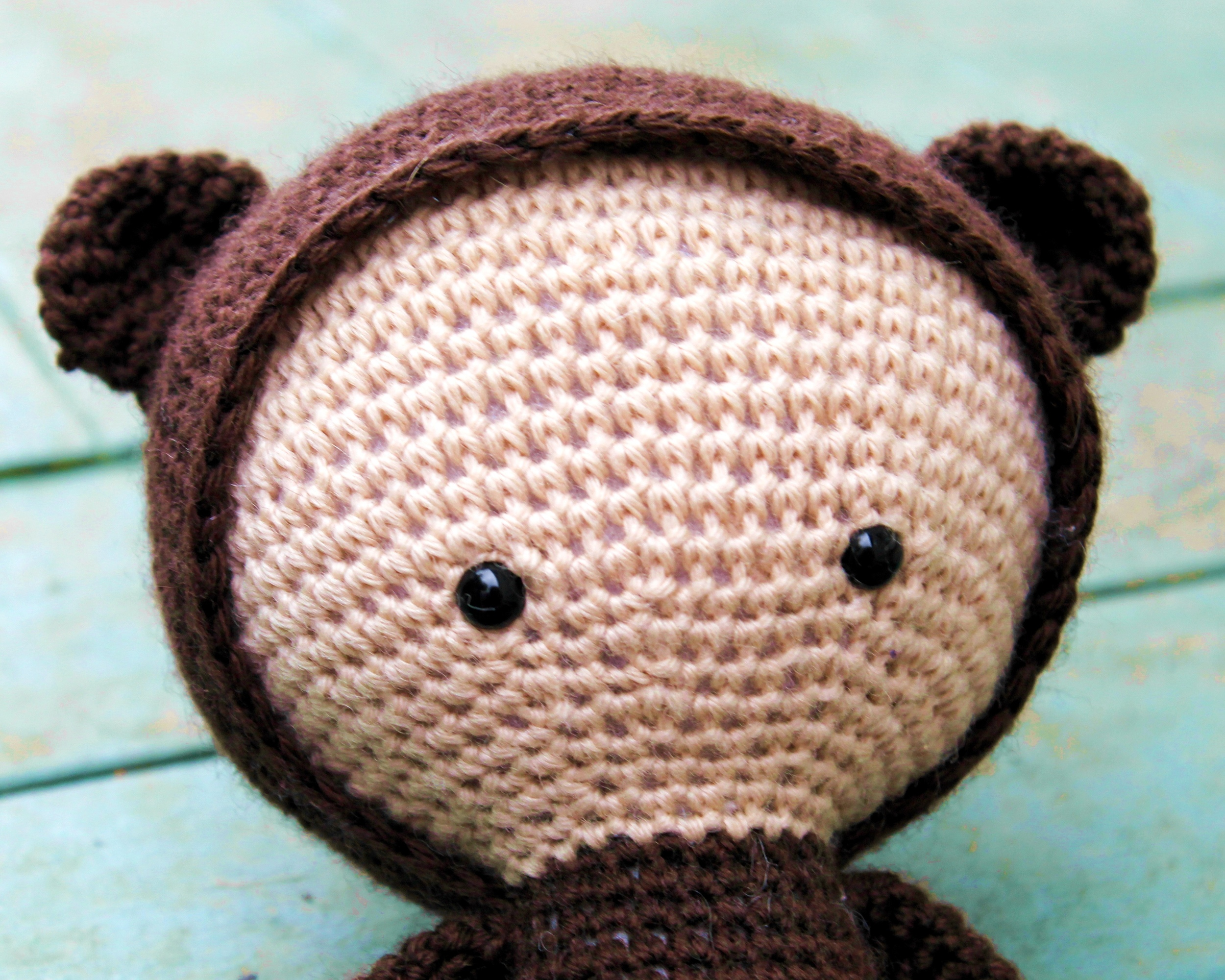 Lalylala amigurumi doll - brown bear