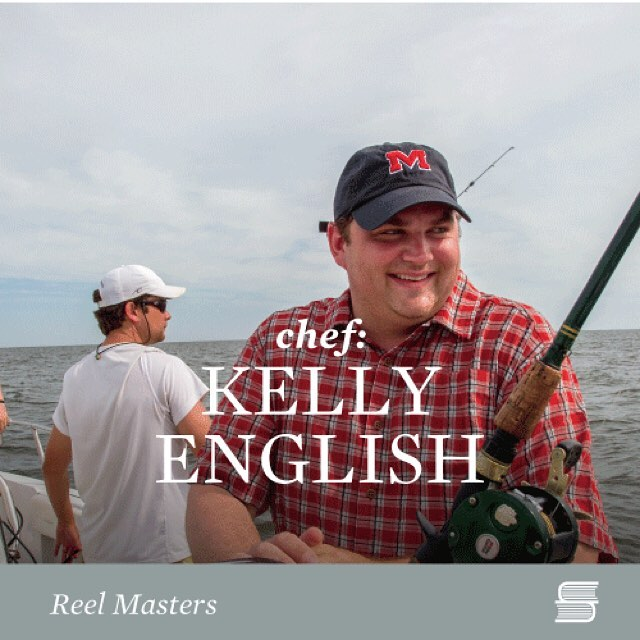 """""""Life is all about moments … you add them up at the end and see what you made of them. There are lots of moments that go by too quickly, then there are moments when time stands still. The thing about fishing in Venice is that both happen simultaneously. When I add everything up, these trips have their own column."""" – Kelly English @chefkellyenglish """"Reel Masters"""" #susanschadtpress #fishing #reelmastersbook"""