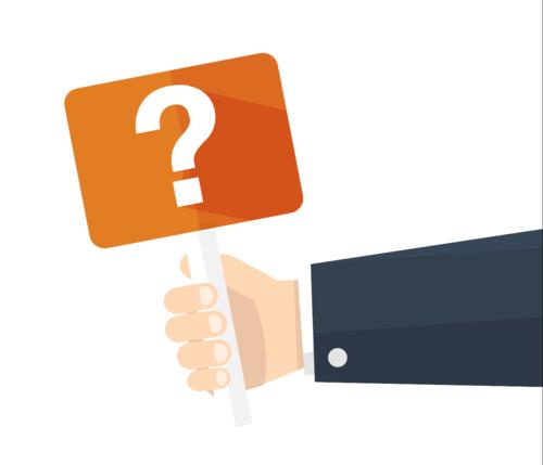 Bild Fragen über Unternehmens Optimierung