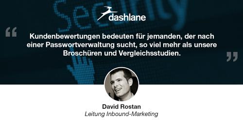 Mit Kundenbewertungen in 6 Schritten zu einem höheren ROI: Die Erfolgsgeschichte von Dashlane