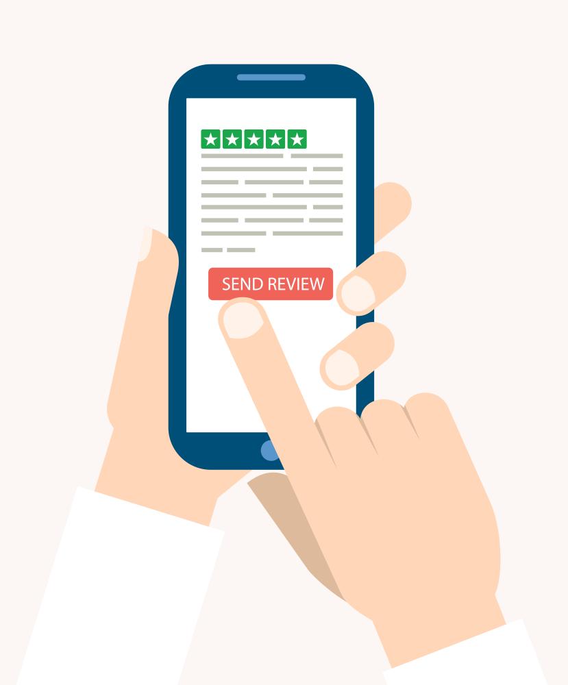 Bild Bewertung SMS Trustpilot
