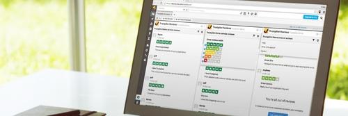 Mit der Hootsuite-App von Trustpilot erobern Ihre Bewertungen das Netz
