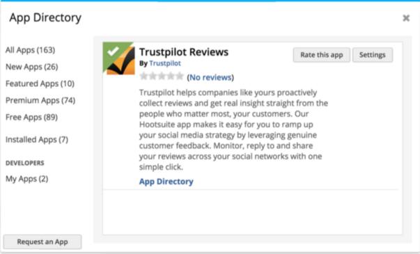 Bild Hootsuite App Directory