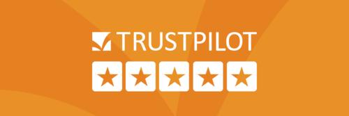 Nutzen Sie die Trustpilot-Marketingmaterialien für Ihre On- und Offlinekampagnen