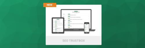 Verbessern Sie das Ranking Ihrer Webseite mit der Product Reviews SEO TrustBox von Trustpilot