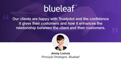 Blueleafs Kunden setzen auf Vertrauen und lassen die Konkurrenz hinter sich