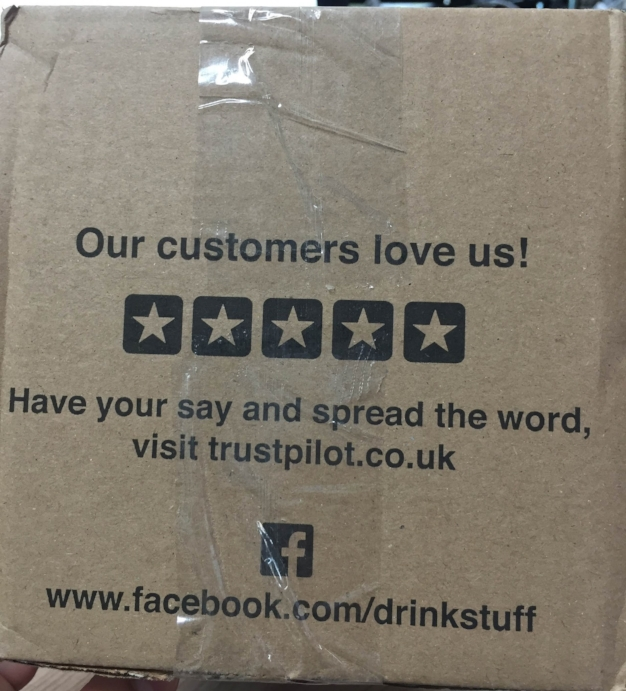 Trustpilot + drinkstuff - Die Verpackung als Vertrauensbeweis