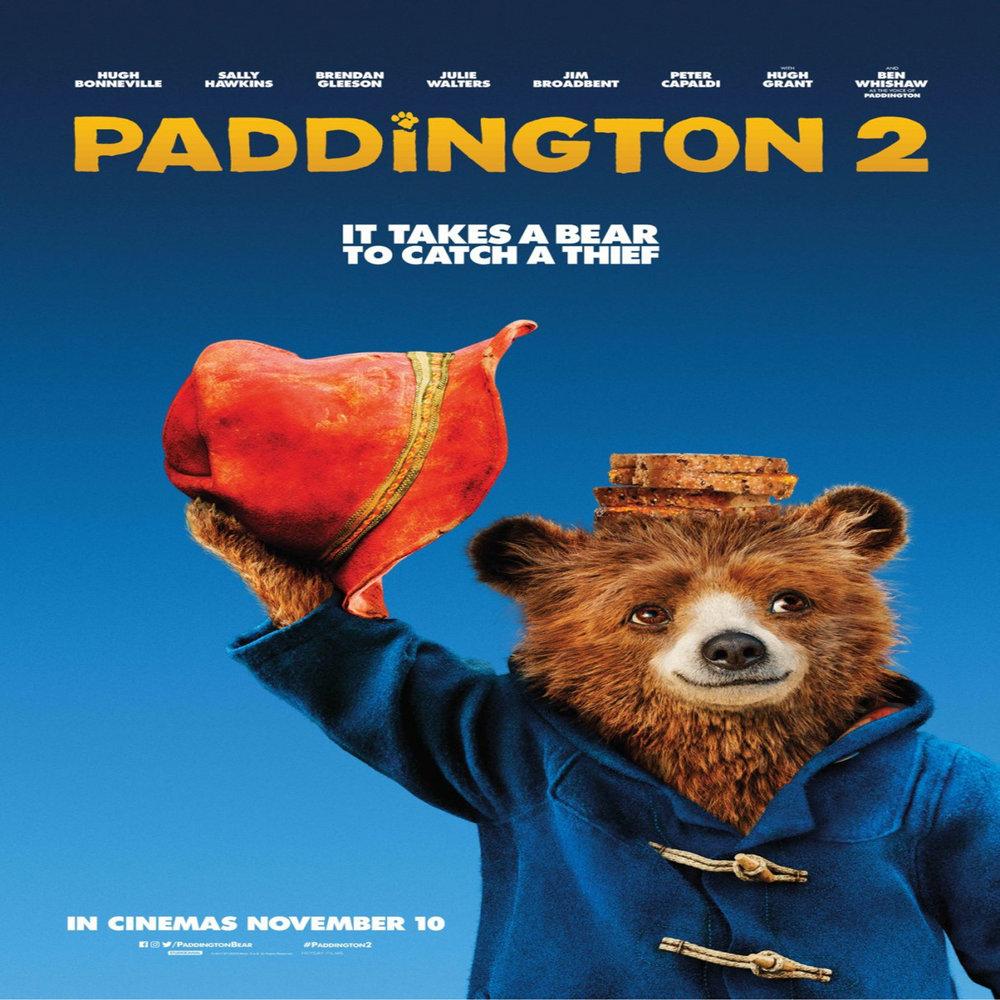 Paddington 2   Friday, 6 April  Movie starts at 1800  Rated PG