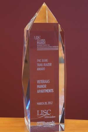 2012 LISC Trail Blazer Award Finalist