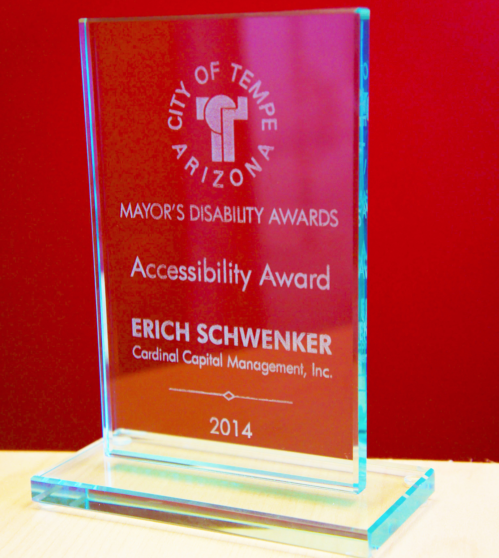 2014 Mayor's Disability Awards: Accessibility Awards